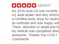 Yelp Review 6-Best Auto Body Shop Ambler Classic Coachwork