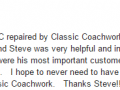 Google Review 4-Best Auto Body Shop Collegeville Classic Coachwork