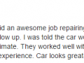 Google Review 7-Best Auto Body Shop Collegeville Classic Coachwork