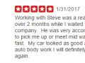 Yelp Review 6-Best Auto Body Shop Collegeville PA Classic Coachwwork