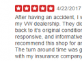 Yelp Review 7-Best Auto Body Shop Collegeville PA Classic Coachwork