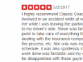 Yelp Review 8-Best Auto Body Shop Collegeville PA Classic Coachwork