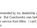 Google Review 2-Best Auto Body Shop Fort Washington PA Classic Coachwork