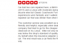 Yelp Review 4-Best Auto Body Shop Fort Washington PA Classic Coachwork