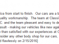 Google Review 15-Best Auto Body Shop Wayne PA Classic Coachwork