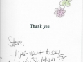 Thank you Letter 2