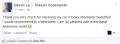 Facebook Testimonial 3-Classic Coachwork Upper Darby Auto Body