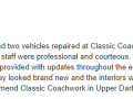 Google Review 1-Classic Coachwork Upper Darby Auto Body