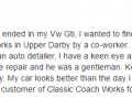 Google Review 36-Best Auto Body Shop Upper Darby Classic Coachwork