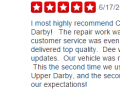Yelp Review 4-Auto Body Repair Shop Upper Darby