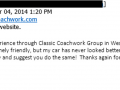 Email Testimonial-Classic Coachwork West Chester Auto Body