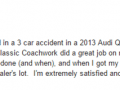 Google Review 15-Classic Coachwork West Chester Auto Body Repair