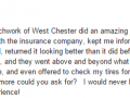 Google Review 22-West Chester PA Auto Body Repair Shop