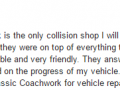 Google Review 30-Best Auto Body Shop West Chester Classic Coachwork